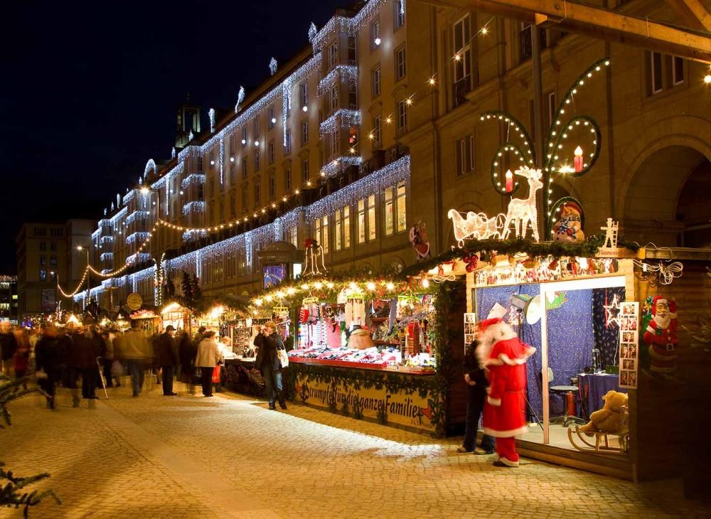 Hochwertige Weihnachtsbeleuchtung Bayern
