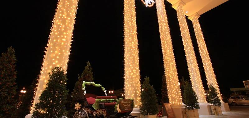 Exklusive Weihnachtsbeleuchtung Professionelle