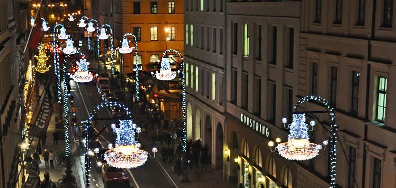 Besondere Weihnachtsbeleuchtung München