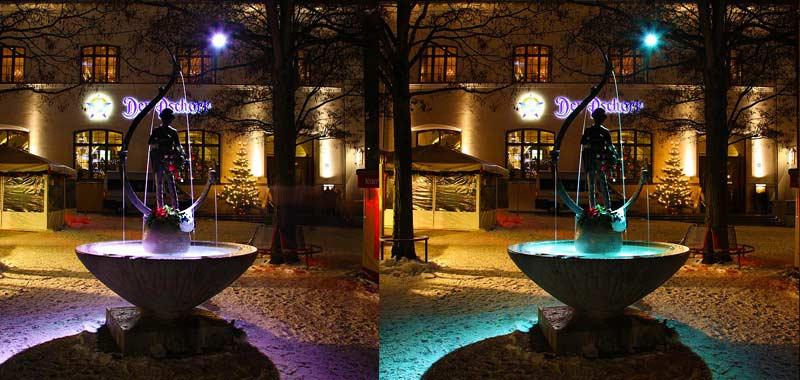 Exklusive weihnachtsbeleuchung viktualienmarkt m nchen for Professionelle weihnachtsbeleuchtung