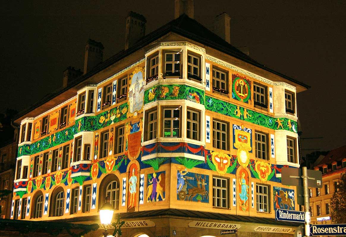 Exklusive und einzigeartige Weihnachtsbeleuchtung München