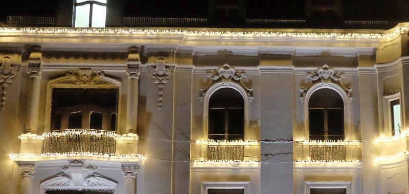 Exklusive Weihnachtsbeleuchtung für die BayBG